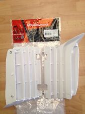 POLISPORT RADIATOR LOUVRES RAD GUARDS YAMAHA YZF 250 YZF250 10-13 WHITE MX