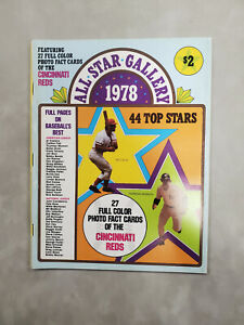 1978 ALL STAR GALLERY 27 SSPC CARDS & 1982 REDS YEARBOOK PETE ROSE TOM SEAVER