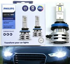 Philips Ultinon LED G2 6500K White H9 Two Bulbs Head Light High Beam Upgrade OE