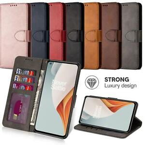 For  OnePlus Nord N100 Case Flip Leather Wallet Cover Book Stand Folio Luxury