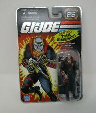 Destro The Enemy Weapons Supplier G.I. Joe Cobra 25th Anniversary Foil Moc