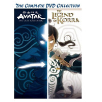 Avatar and The Legend of Korra The Complete Series Collection [DVD] [New & Se...