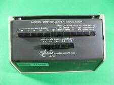 Veeco Wafer Simulator - Ws-100 - Used