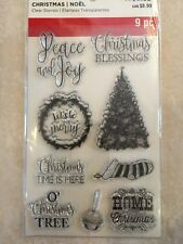 Christmas Sayings Clear Stamps By Recollections™ 529183 CHRISTMAS 🎅🤶 NEW