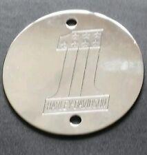 Harley Davidson Chrome points cover 1970's AMF Bar Shield
