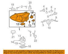 Lexus TOYOTA OEM 04-06 RX330-Headlight Assembly 0400284348