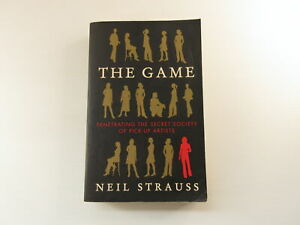 The Game By Neil Strauss Paperback Literacy Fiction Autobiography Novel