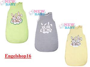 Baby Schlafsack Bunnies von New Baby EU-Produkt Gr.74, 86