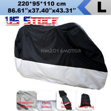 Standard Street Motorcycle L Cover Scooter Moped All Weather Protection US Stock