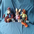Disney Parks Splash Mountain Brer Rabbit, Brer Bear, Brer Fox Plush