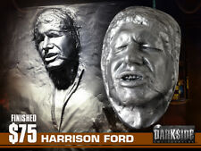 """HAN SOLO IN CARBONITE LIFE-SIZE Life Cast in Lightweight """"PEWTER FINISH"""" Resin"""