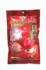 OKIKO High Quality Flowerhorn Cichild Fish Food 100g Pellet Size L Crystal Red
