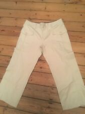 Tommy Hilfiger  cream chino trousers size 16