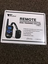 dog training collar rechargeable and waterproof,