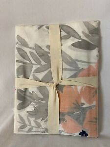 West Elm flowered Sham New with tags Printed Petals Standard