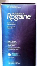 Women's Rogaine Foam 5% Minoxidil Topical Aerosol 4 month exp. April-July 2018