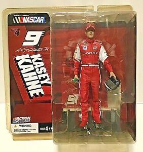 Kasey Kahne - Nascar- Series 4-Action Figure By Mcfarlane- #9 Dodge-Mt Dew-2004