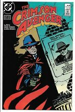 Crimson Avenger #1 (June 1988, Dc Comics)
