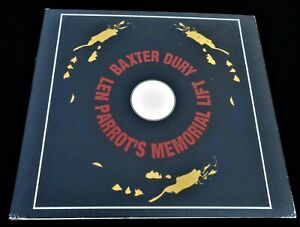 Baxter Dury: Len Parrot's Memorial Lift Rough Trade CD 050 Ian Dury New Boots