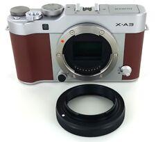 Fuji X Mount Short T-Ring  - Only 10mm Deep, FITS STANDARD 42mm THREAD.