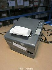 Epson TM-T88V 88V M244A Bondrucker SCHWARZ USB SERIAL Thermodrucker Bon Drucker