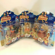 Playmates Chicken Run Lot of 3 Figures Ginger Rocky Bunty 2000 New in Package