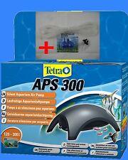 Aquarienluftpumpe Tetratec APS 300 anthrazit + Gratis Zubehör SET  24Std.Ver.