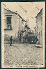 Campobasso Montecilfone cartolina QQ4431