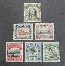 nystamps British Aitutaki Stamp # 28-33 Mint Og H $33 U4y1414