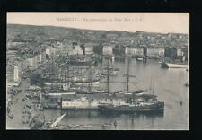 France MARSEILLE Vieux Port sail tall ships c1900s? PPC