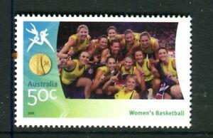 2006 XVIII Melbourne Commonwealth Games MUH #40 Women's Basketball