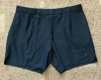 32adf152 Nike Court Mens X RF Roger Federer Tennis Shorts Armour Navy Blue Size 2XL  XXL