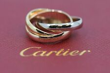 Cartier Trinity 18K Gold Ring Size 52