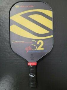2021 Selkirk AMPED S2 Midweight X5 FiberFlex Paddle Pickleball Macgregor
