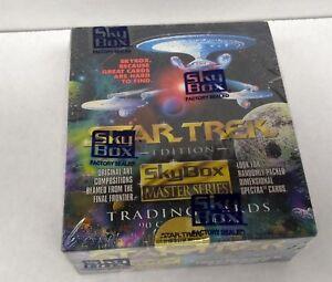 Star Trek Skybox Master Series Trading Cards (1992) sealed box of 36 packs