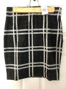 NEW!! SALE!! Select Brushed Moni Check Skirt Mini UK 8 EU 36