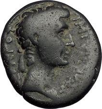 AUGUSTUS 4AD Antioch Seleukis Pieria SC Rare Authentic Ancient Roman Coin i56357