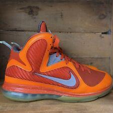 Nike Lebron 9 Big Bang All Star Galaxy Orange Grey Men Size 10 Rare 520811-800