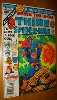 MARVEL TWO IN ONE #2 52 PAGE GIANT JIM STARLIN CLASSIC THANOS  VF-