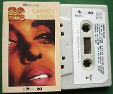Carmen McRae 20 Hits inc The Shadow of Your Smile + Cassette Tape - TESTED