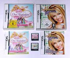 Jeux: Barbie mousquetaires + Hannah Montana pour Nintendo DS + LITE + 3ds + xl