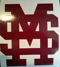 Mississippi State MS CORNHOLE DECALS - CORNHOLE DECALS Cornhole Boards