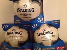 Coaches. 3 MATCH game soccer balls,football,futbol, NEVER  FLAT size 5.GAME BALL