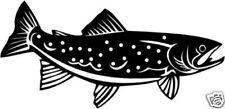 Forelle  Aufkleber Sticker Angelsport Fisch m342