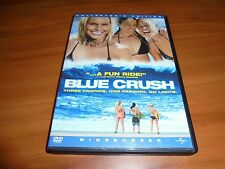 Blue Crush (DVD, 2003, Widescreen) Kate Bosworth Michelle Rodriguez Used Surfing