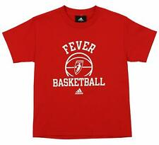 Adidas WNBA Youth Indiana Fever Dribbler Ball Short Sleeve Tee, Red
