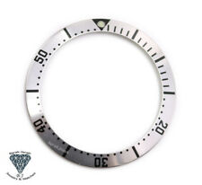 Silver Bezel Insert For Omega Seamaster 41mm watches 2231.80.00