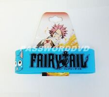 FAIRY TAIL HAPPY & LOGO PVC WRISTBAND GENUINE LICENSED BRAND NEW