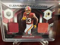 2019 Panini Elements of Success #73/99 Bryce Love #ES-29 Rookie