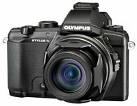 MINT CONDITION Olympus Stylus Stylus 1 12.0MP Digital Camera - Black